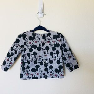 Disney Mickey Mouse button up sweater.